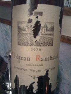 Château Rambaud 1970