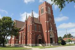 Templeton Iowa Map.Sacred Heart Catholic Church Templeton Ia Built In 1900 Tom