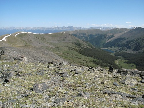 Climbing Fitzpatrick Peak was a last-minute decision when we read about it in John Fielder's Best of Colorado, Sawatch Range.