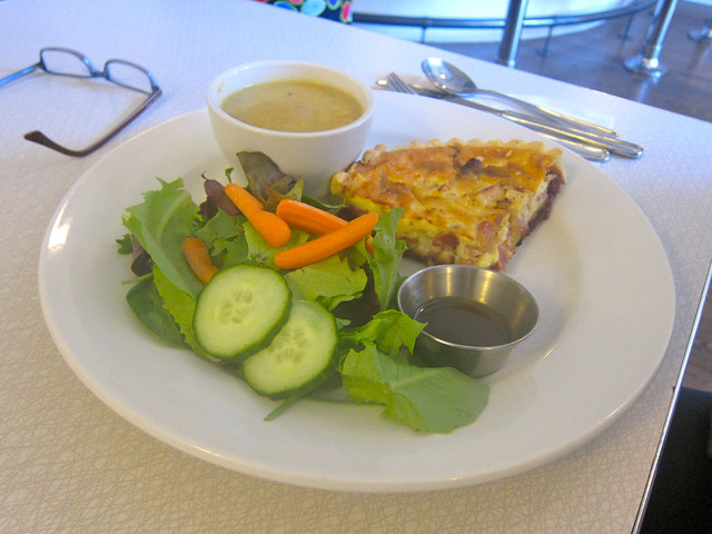 Brie & Cranberry Quiche | Acme Cafe
