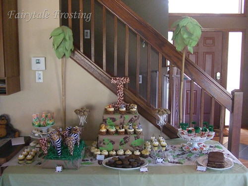 Culver Baby Shower Safari Table