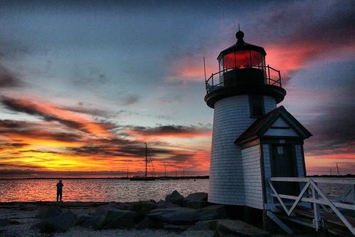 lighthouse night canon point dawn evening harbor nantucket brandt 50d mywinners hbppix 100commentgroup bestcapturesaoi doublyniceshot tripleniceshot elitegalleryaoi
