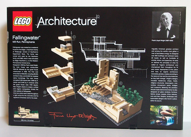 Review 21005 fallingwater special lego themes eurobricks forums - Lego falling waters ...