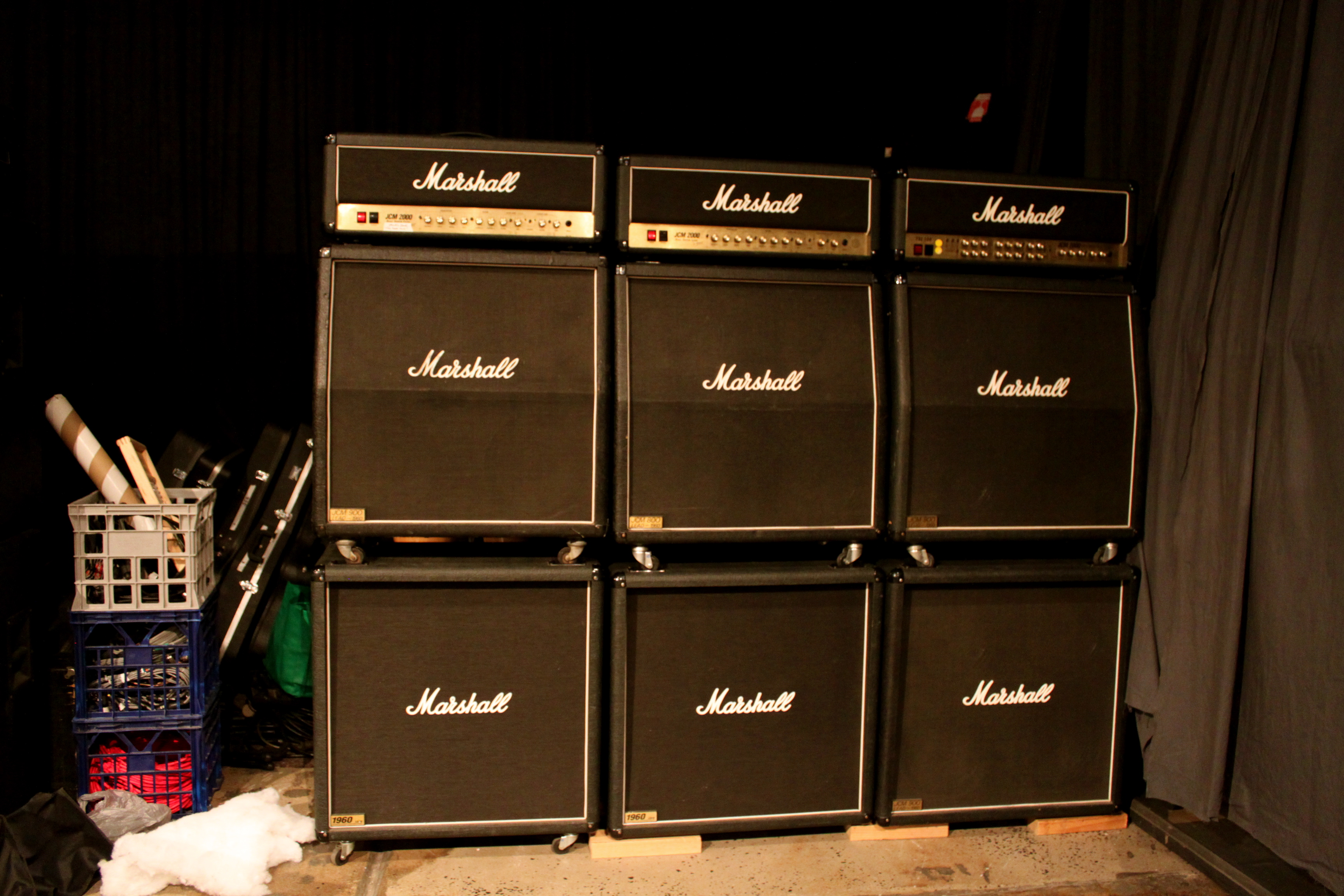 The Wall Of Marshall Stacks It Goes Past 11 To 12 Flickr Photo Sharing