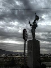 D. Pedro Estopiñán, estatua en Melilla