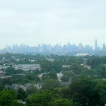 New York Skyline from the place we`re staying in Passaic