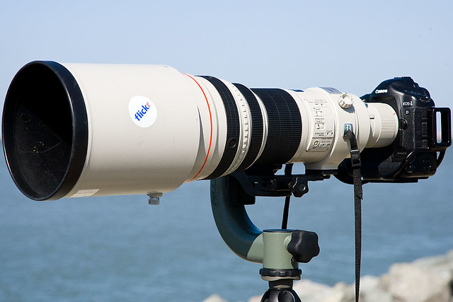 My 600mm lens setup canon ef 600mm f 4 is with a canon eos 1d mark ii