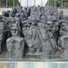 La Foule - The Crowd - Sculpture in the Jardin des Tuileries by Monceau