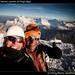 Harry and Warner, summit of Chopicalqui