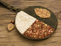 Autumn Leaf pouch