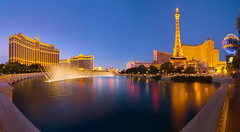Vegas At Magic Hour