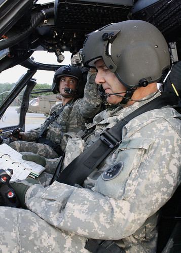 Army Guard Father, Son Fly Together