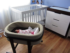 bed frame, furniture, changing table, room, infant bed, bed, baby products,