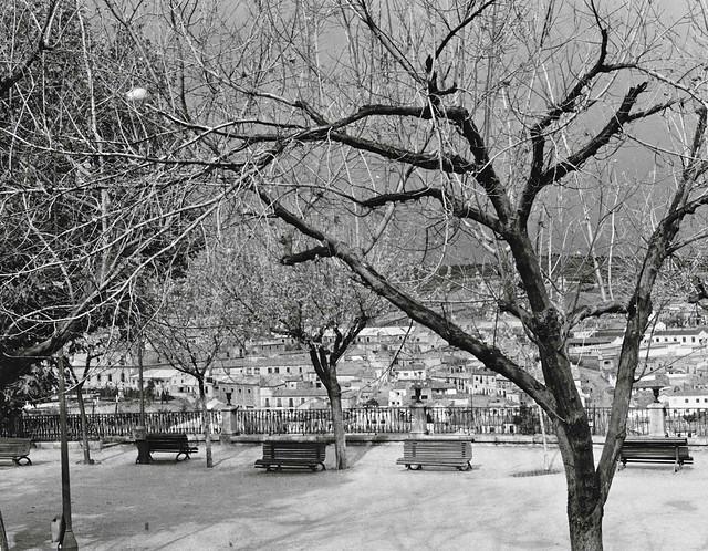 Paseo del Miradero en 1967. Fotografía de John Fyfe