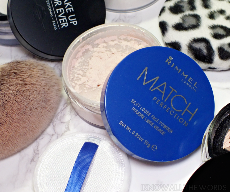 loosely based rimmel match perfection silky loose face powder
