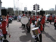 marching band, drummer, musician, parade, marching, drum, hand drum, skin-head percussion instrument,