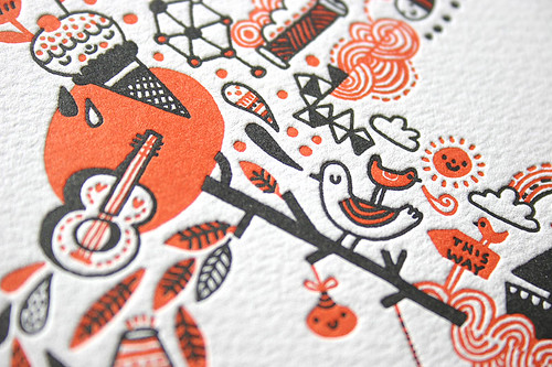 Gemma Correll Limited Edition Letterpress Prints