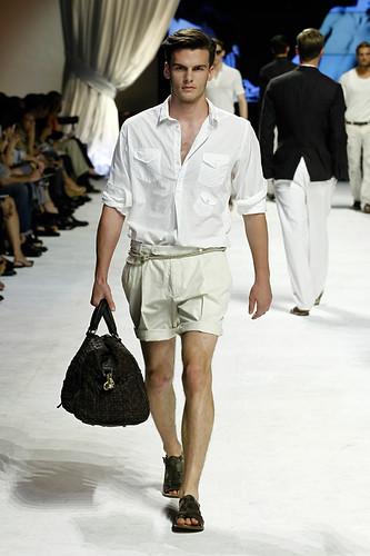 Dolce & Gabbana Man Fashion Show male model