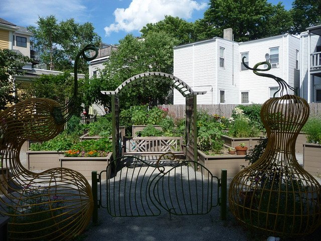 East Cambridge - Costa Lopez Taylor Park Community Garden, Cambridge, MA