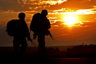 Sunset stroll | by The U.S. Army