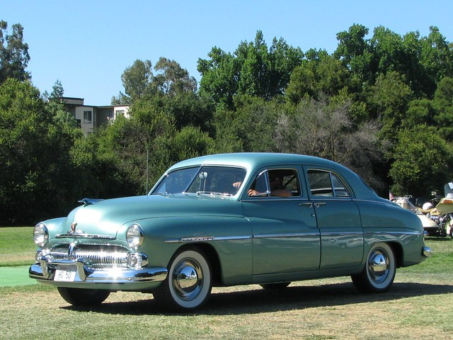 1950 mercury 4 door sedan 6 photographed at the palo for 1950 mercury 4 door sedan