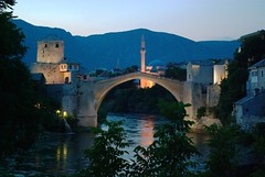 The ottoman bridge of Mostar