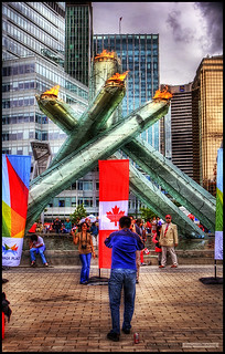 The Canada Day Flame