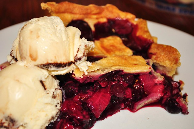 Mmm... twice berry pie