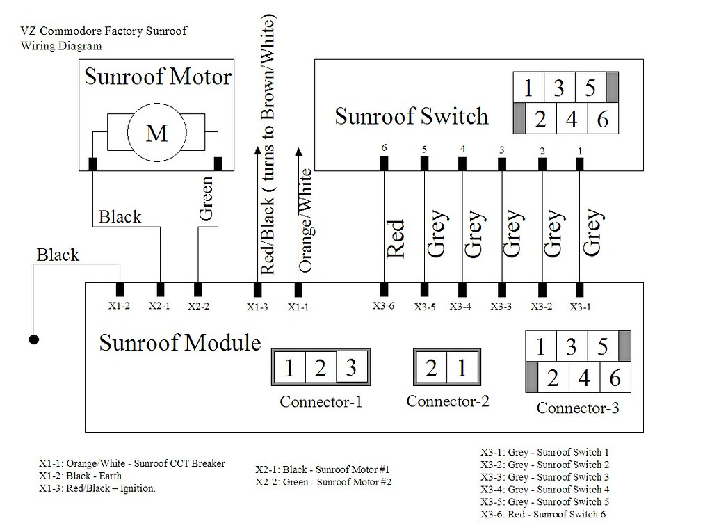 Webasto sunroof wiring diagram images