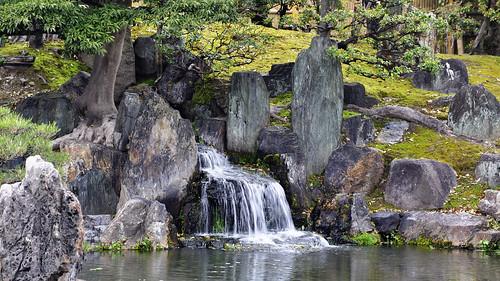 Waterfall, Japanese Garden