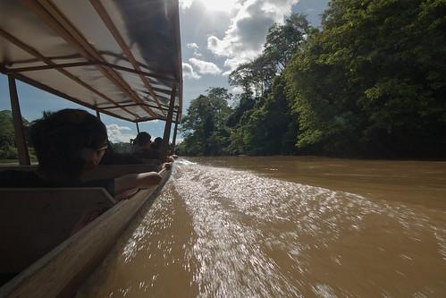 Jerantut to Kuala Tahan via Kuala Tembling by bus and boat