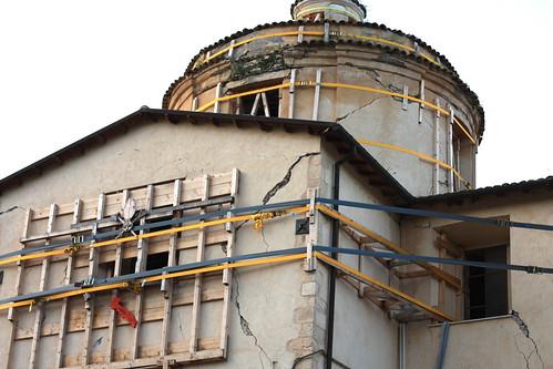 Goriano Sicoli - after the 2009 earthquake