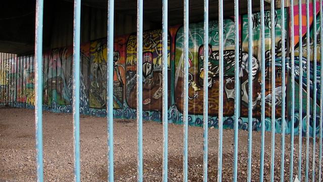 Cardiff Bay-Sealock Grafitti