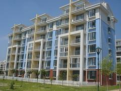 tower block, building, property, architecture, house, residential area, real estate, condominium, facade, apartment, neighbourhood,
