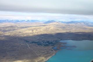 Patagonian Landscape - over El Calafate