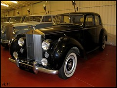 automobile, vehicle, rolls-royce silver dawn, antique car, sedan, classic car, vintage car, land vehicle, luxury vehicle,