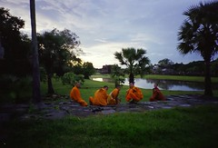 Monks, Angkor Wat (2001)