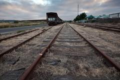 Tracks and Sunset