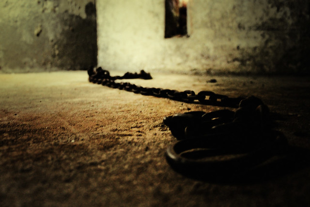 Slave Market holding cell in Stone Town