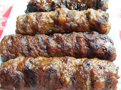 grilling, fried food, mititei, meat, food, dish, kebab, cuisine, grilled food,