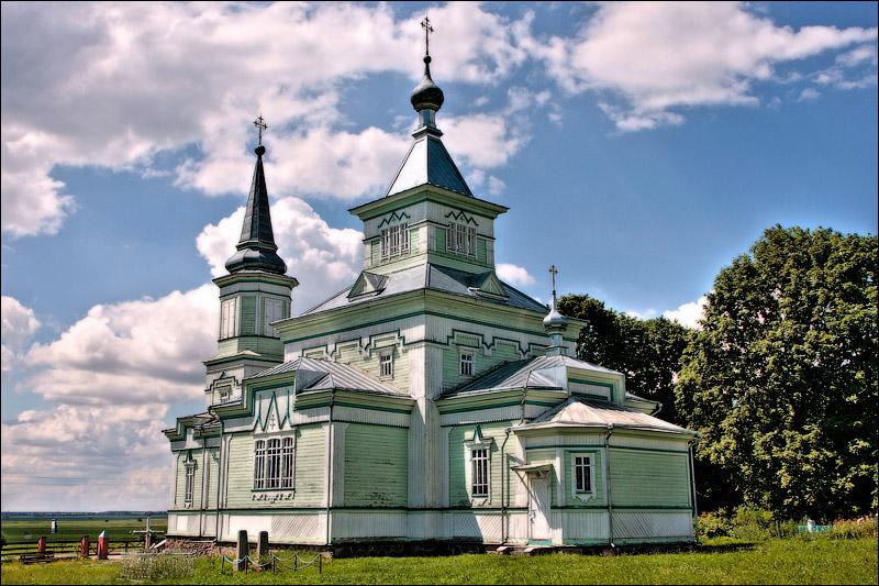 Лешня, Церковь св. Георгия