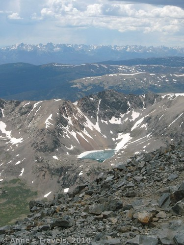 Chihuahua Lake. This book inspired me to climb my first 14er - Grays Peak!