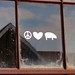 Peace, love and hogs? by Lights in my hometown