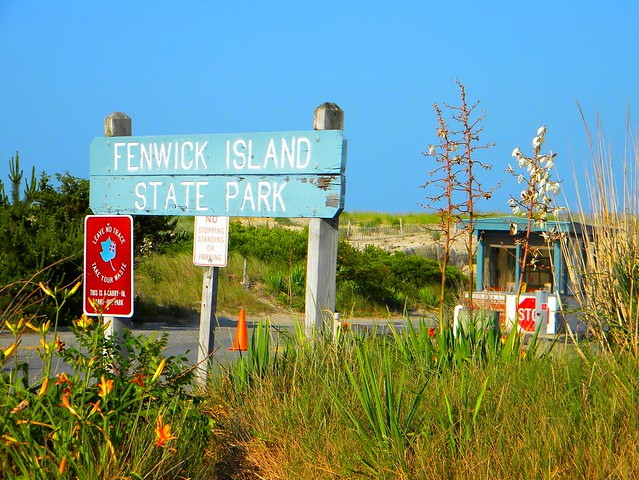 De  At Entrance To Fenwick Island State Park