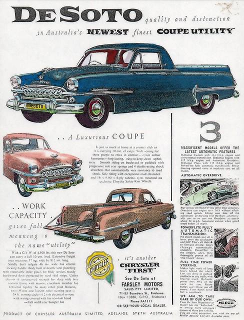 1956 DeSoto Coupe Utility (Aus)