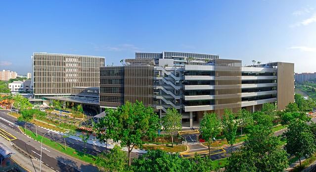 KHOO TECK PUAT Hospital - panorama view | KHOO TECK PUAT Hos.