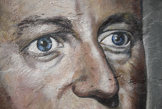 David Cameron painted portrait _DDC9187