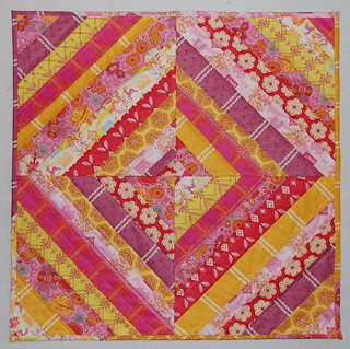 Swaddled Baby Love string quilt