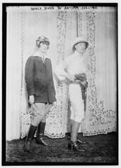 Nancy Dixon and Arthur Sullivan  (LOC)