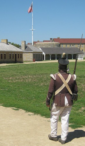 Fort Snelling Soldier